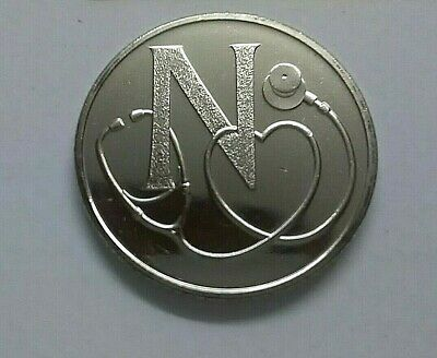 BRAND NEW RARE A Z 10p Alphabet 2018 COIN Ten Pence UNCIRCULATED  LETTER N  NHS
