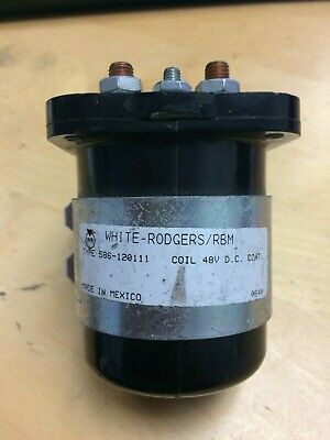 White-Rodgers/RBM Coil 48v DC Industrial Relay (Solenoid) 586-120111