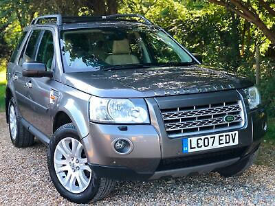 2007 07 Land Rover Freelander 2 2.2Td4 HSE 2 KEYS, FULL SERVICE HISTORY 2 OWNERS