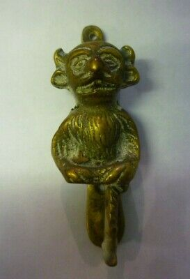 Antique Brass Lincoln Imp Door Knocker