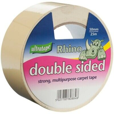 Ultratape - Rhino Double Sided Multi-purpose Strong / Carpet Tape / Heavy Duty
