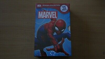 DK Marvel reader collection, 15 books, unread, sealed packet, Avengers X Men etc