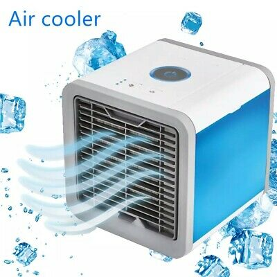 USB Mini Portable Air Conditioner Purifier Air Cooling Fan with FREE BOX