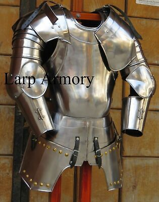 Medieval Breastplate Gothic Suit of Armor Adult Costume Reenactment Halloween
