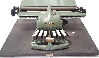 ►Antigua maquina de escribir braille BLISTA  TYPEWRITER de 1951►