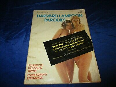 100 Years Of Harvard Lampoon Parodies (1976) SC Playboy Henry Kissinger Humor GD