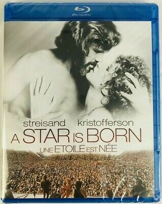 1976 A Star Is Born Blu-Ray Barbra Streisand Kris Kristofferson Brand New