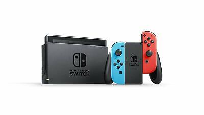 *BRAND NEW* Nintendo Switch Neon Red & Blue Joy-Con Console