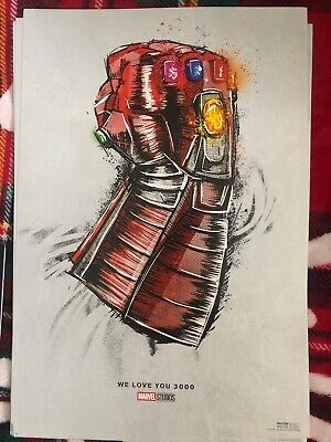 Avengers Endgame Rerelease Poster - 13 x 19 Inches - Marvel Official Poster