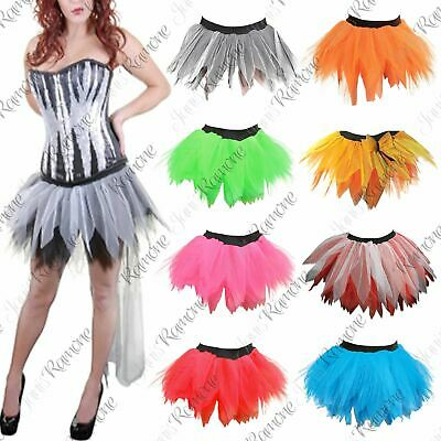 New Womens 6 Layers Petal Fancy Dress Hen Night Dance Party Wear Mini Tutu Skirt