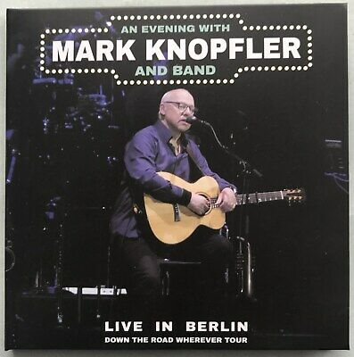 MARK KNOPFLER Live in Berlin 2019 Down the Road Wherever Tour Tour 2CD set NEW