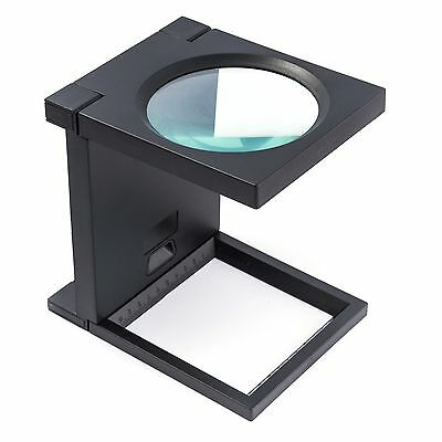 Magnifying ZD-MG14116-A Square with Scala Compact Mignifer x2, 5 Lens: 110mm New
