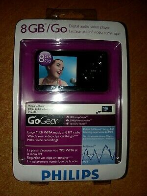 Philips GoGear SA3285 Black ( 8 GB ) Digital Media Player MP3 Radio