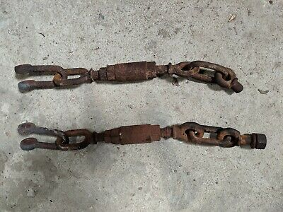 Pair Of Fordson Major Check Chains