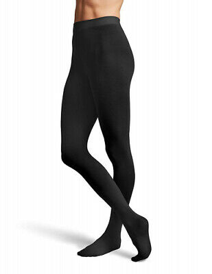 (Petite/Small, Black) - Bloch Dance Women's Contour Soft Footed Tights