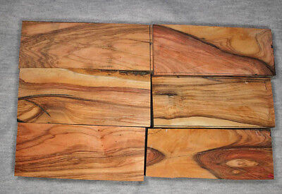 150+ year old Olive 30 x 30 x 120mm Highly Figured timber Australian