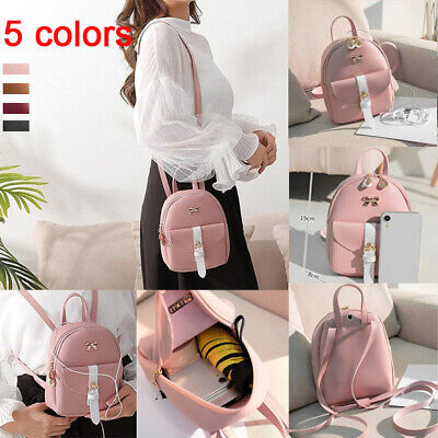 1Pc 2019 New Fashion Lady Shoulders Small Backpack Letter Purse Messenger Bag