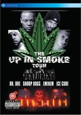 The Up in Smoke Tour (Dr Dre/Snoop Dogg/Eminem/Ice Cube) Reg 4 DVD New In Stock