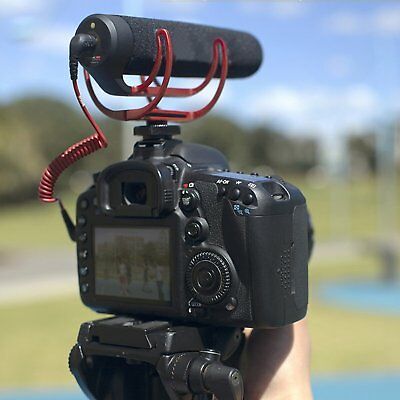 RODE VideoMic GO On-Camera Shotgun Microphone for Camera T4M2 Canon Nikon DSLR