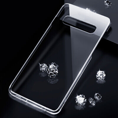 Ultra-thin Crystal Clear Hard Case Cover For Samsung Galaxy Note 10 Plus A50 S10
