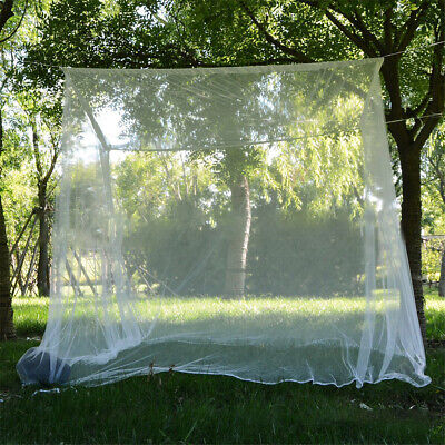 Large White Camping Outdoor Mosquito Net Indoor Netting Storage Bag Insect Tent