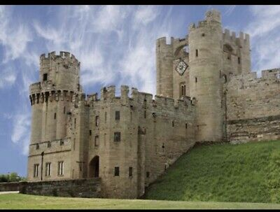 2 X Warwick Castle Tickets Friday 19th July Sun Superdays