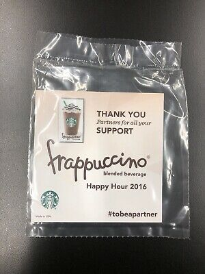 Starbucks Partner Frappuccino Pin – VERY RARE - Sealed - Free Shipping!