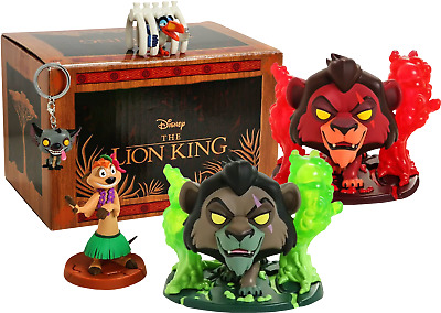 The Lion King - Scar with Flames Exclusive Collector Box (RS)
