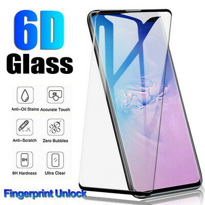 Full Cover Tempered Glass Screen Protector For Samsung Galaxy Note 10 Pro S10+