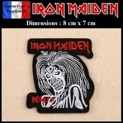 Écusson Brodé Thermocollant NEUF ( Patch Embroidered ) - Iron Maiden