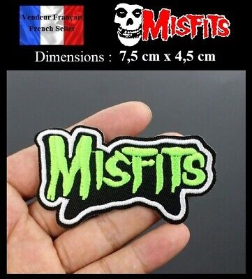 Écusson Brodé Thermocollant NEUF ( Patch Embroidered ) - The Misfits