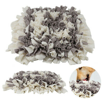 Pet Snuffle Mat For DogFood Mat Pressure Relieving Nosework Training Washable