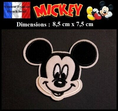 Écusson Brodé Thermocollant NEUF ( Patch Embroidered ) - Mickey