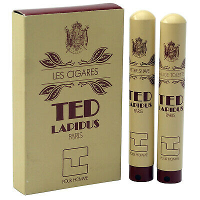 Ted Lapidus TL Pour 15 ml EDT Toilette Spray + 15 ml After Shave Spray Vintage