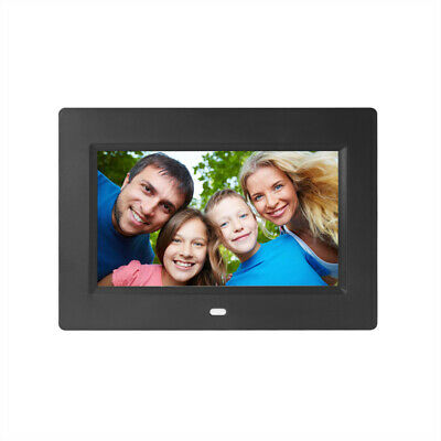 """7"""" Digital Photo Frame 800x480 Electronic Album Picture Music Video MP3 Player"""