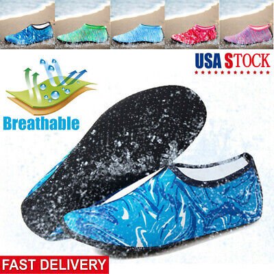 Adult Kid Water Shoes Barefoot Beach Skin Socks Quick-Dry Aqua Swim Water Sports
