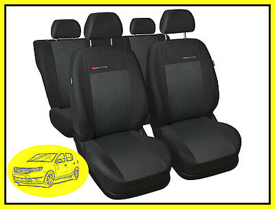 Fully tailored seat covers for Dacia Sandero II 2012 - on Full set