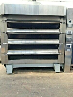 Tom Chandley 4 Deck 32 Tray With Steam BAKERY EQUIPMENT DO07