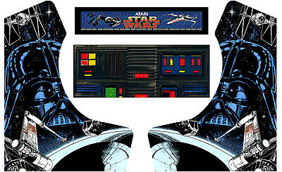 Star Wars Bartop Arcade Side Art Arcade Cabinet Graphics Marquee Cpo