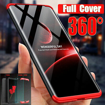 For Huawei P30 Lite/Pro Y6 Pro 2019 360° Full Protective Hybrid Armor Case Cover