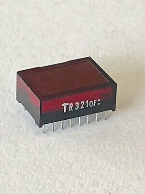 Tr321Of : 2 Digit 7 Segment Led Display Black Background Red Display Comon Anode