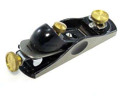 Block Plane Woodworking Carpentry with Cast Iron and Brass Body TZ WW078