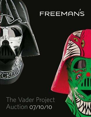 NEW - The Vader Project Auction Catalog: 100 Helmets/100 Artists
