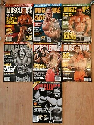 MUSCLEMAG - archival issues for collectors or bodybuilding fans!