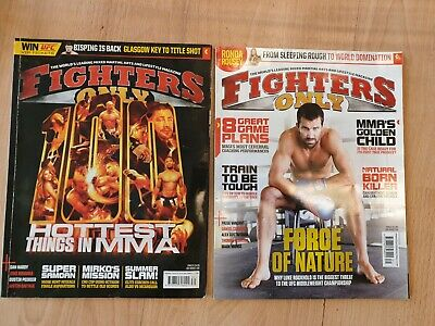 Fighters Only - archival issues for collectors or MMA fans!