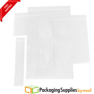 Ziplock Baggies 2 Mil & 4 Mil Polybag Combo Pack 2000 Count (1000 Pcs/Size)