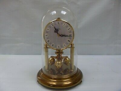 Vintage KERN Dome Anniversary 400 day Torsion Clock Wind Up Mechanical West Germ