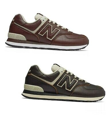 new balance 574 uomo pelle bordeaux