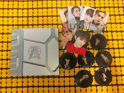 (OPENED) WAYV WAY V NCT TAKE OFF FIRST MINI ALBUM + PHOTOCARD lucas Winwin kun