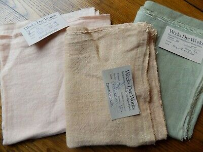Weeks Dye Works Hand Over-Dyed Linens YOU CHOOSE